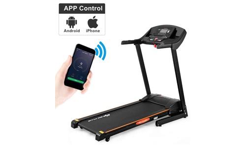 Goplus Folding Treadmill Electric Incline