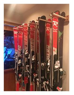 Pro Board Racks Vertical Ski