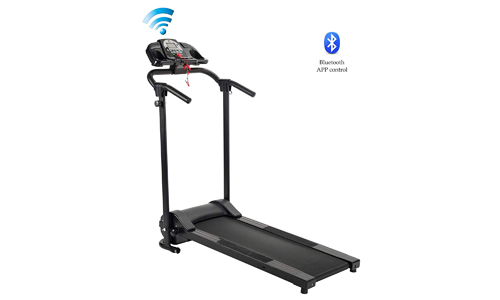 ZELUS Folding Treadmill