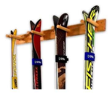 Timber Ski Wall Rack