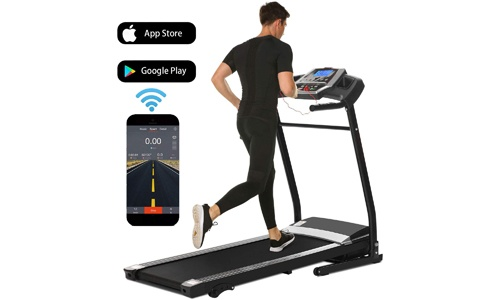 Folding Electric Motorized Power Fitness Running Machine