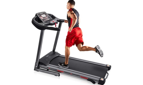 Merax Heavy Duty Electric Folding Treadmill