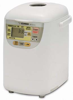 10. Zojirushi BB-HAC10 Programmable Mini Breadmaker