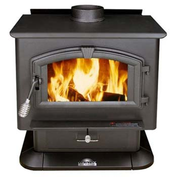 7. US Stove 2000 EPA Certified Wood Stove, Medium