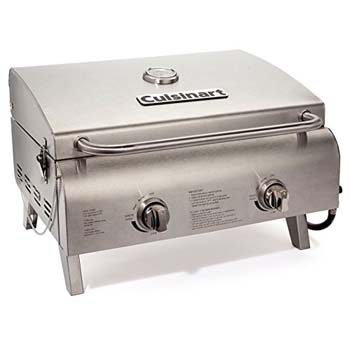 2. Cuisinart CGG-306 Professional Tabletop Gas Grill