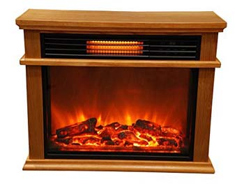 4. Lifesmart Easy Large Room Infrared Fireplace