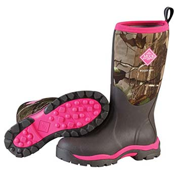8. Muck Woody PK Rubber Women's Hunting Boots