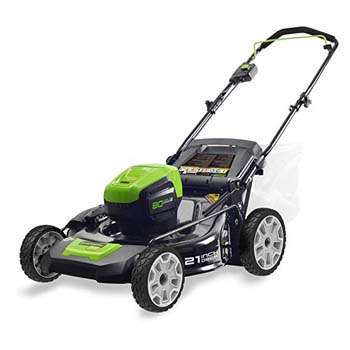 5 Greenworks Pro Cordless Lawn Mower