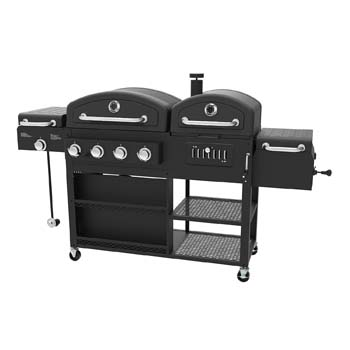 4. 4-in-1 LP Smoke Hollow Gas Searing Charcoal smoker BBQ Grill Model