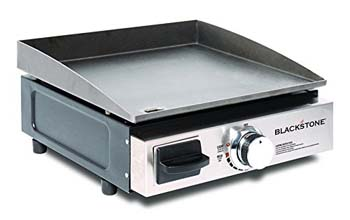 7. Blackstone Table Top Grill – 17 Inch Portable Gas Griddle
