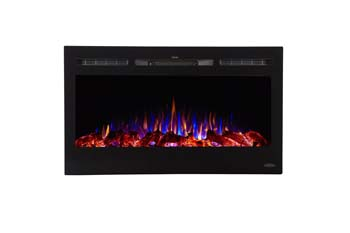 10. Touchstone 80014 Sideline Electric Fireplaces (36 Inch Wide)