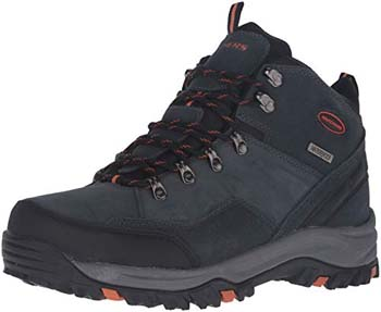 10. Skechers Men's Chukka Waterproof Boot