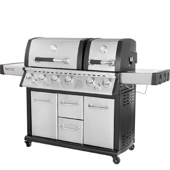2. Royal Gourmet Mirage MG6001-R two split lid Cabinet Propane Infrared burner Gas Grill with 6 burners
