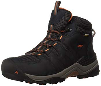 7. KEEN Men's Gypsum Waterproof Hiking Boot