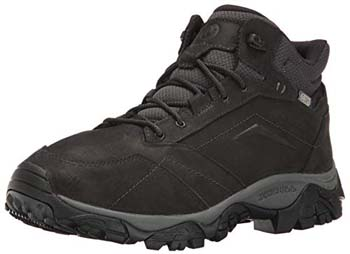 8. Merrell Men's Moab Waterproof Hiking Boot