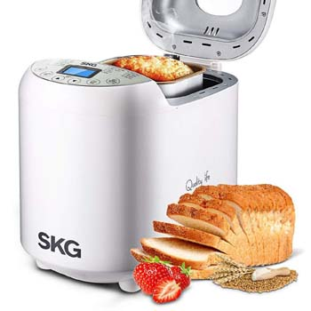 9. White Automatic Bread Making Machine From SKG