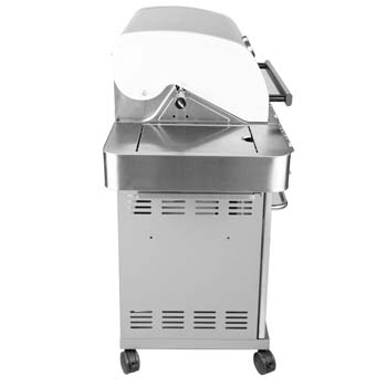 5. Monument Grills Stainless Steel 4 burner Propane Gas Grill with side Sear Burners