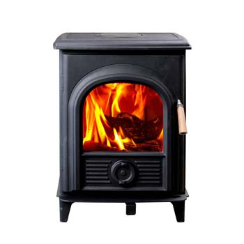 8. High Frame HF905U Wood Stove, Small.