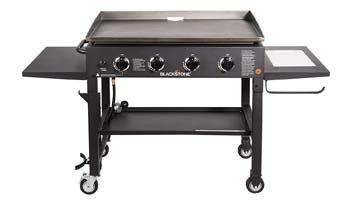 9. Blackstone 36 inch Outdoor Flat Top Gas Grill Griddle Station