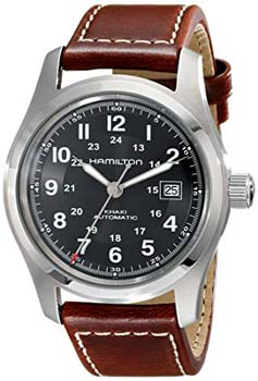 3. Hamilton Men's H70555533 Khaki Field Stainless Steel Automatic Watch