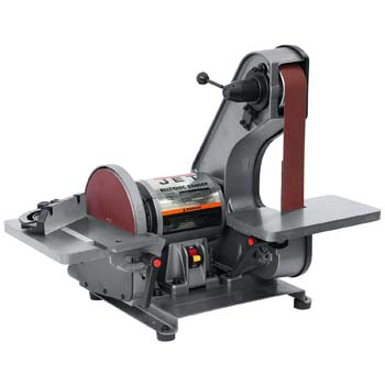 4. JET J-41002 2-Inch by 42-Inch 3/4-Horsepower Bench Belt and 8-Inch Disc Sander