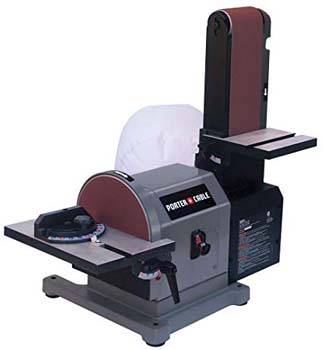 9. Porter Cable Benchtop Disc Belt Sander with Disc Work Table