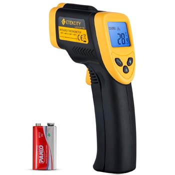 2. Digital Laser Infrared Etekcity Lsergrip Non-Contact Thermometer