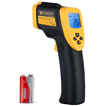 7. Etekcity Lasergrip Digital Infrared Thermometer