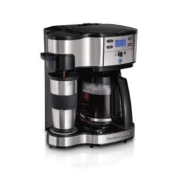 1. HAMILTON BEACH 2-WAY BREWER COFFEE MAKER