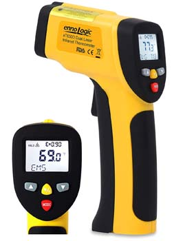 8. ennoLogic Temperature Gun Infrared Thermometer