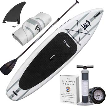 "5. Tower Inflatable 10'4"" Stand Up Paddle Board"