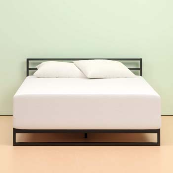 4. Zinus Memory Foam 12 Inch Green Tea Mattress
