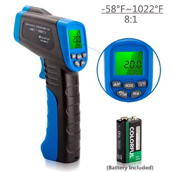 6. Holdpeak Non-Contact Digital Laser Thermometer