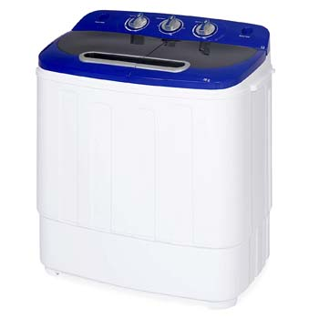 5. Best Choice Products Portable Compact Lightweight Mini Twin Tub Laundry Washing Machine