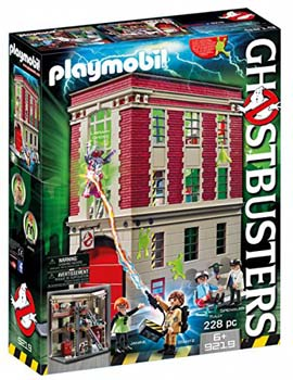 1. PLAYMOBIL GHOSTBUSTERS FIREHOUSE