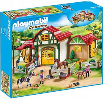8. PLAYMOBIL HORSE FARM BUILDING SET