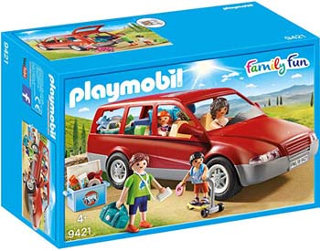 7. PLAYMOBIL FAMILY CAR
