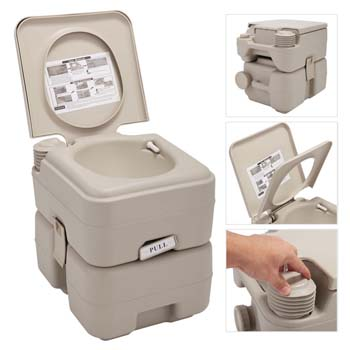 1. JAXPETY 5 Gallon Portable Toilet