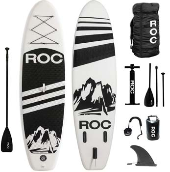 1. Roc Inflatable Stand up Paddle Boards