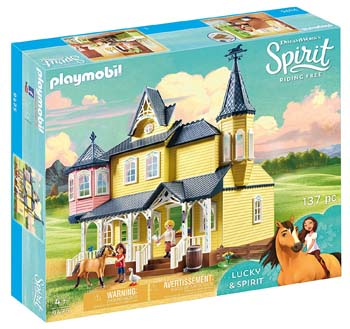 2. PLAYMOBIL SPIRIT RIDING FREE PLAYSET