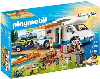 9. PLAYMOBIL CAMPING MEGA SET TOY