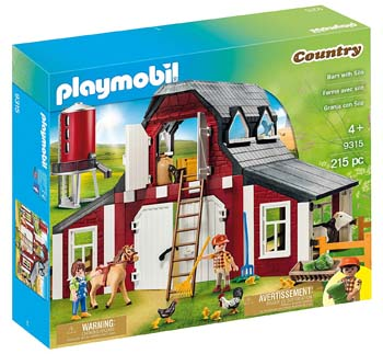10. PLAYMOBIL BARN WITH SILO