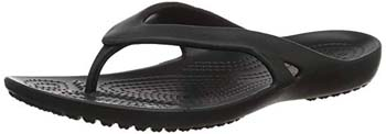 9. Crocs Women's Kadee II Flip Flop | Casual Lightweight Beach Sandal or Shower Shoe