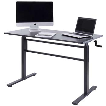 2. UNICOO - Crank Adjustable Height Standing Desk