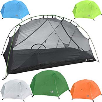 4. Hyke & Byke Zion 1 and 2 Person Backpacking Tents