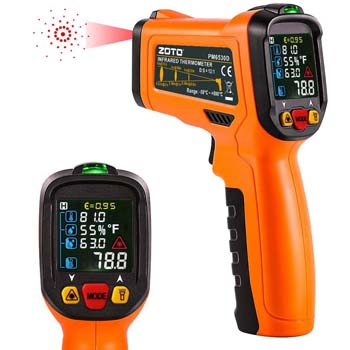 10. ZOTO Non-Contact Temperature Gun Instant-Read