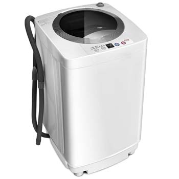 4. Giantex Portable Compact Full-Automatic Laundry 8 lbs
