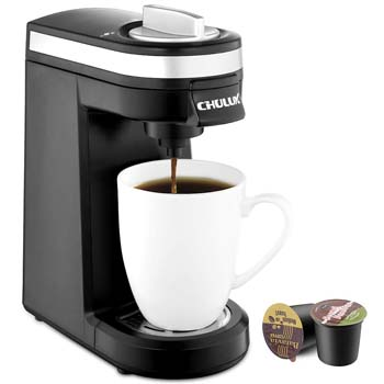10. CHULUX SINGLE SERVE COFFEE MAKER