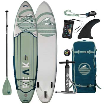 2. Peak Expedition Inflatable Stand up Paddle Board