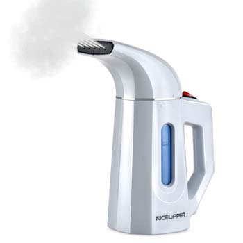 10. NICEUPPER Handheld Garment Steamer, 160milliliter Portable Travel Steamer